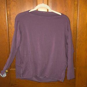 Lululemon purple long sleeve